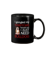 Bulldog Symptoms Mug thumbnail