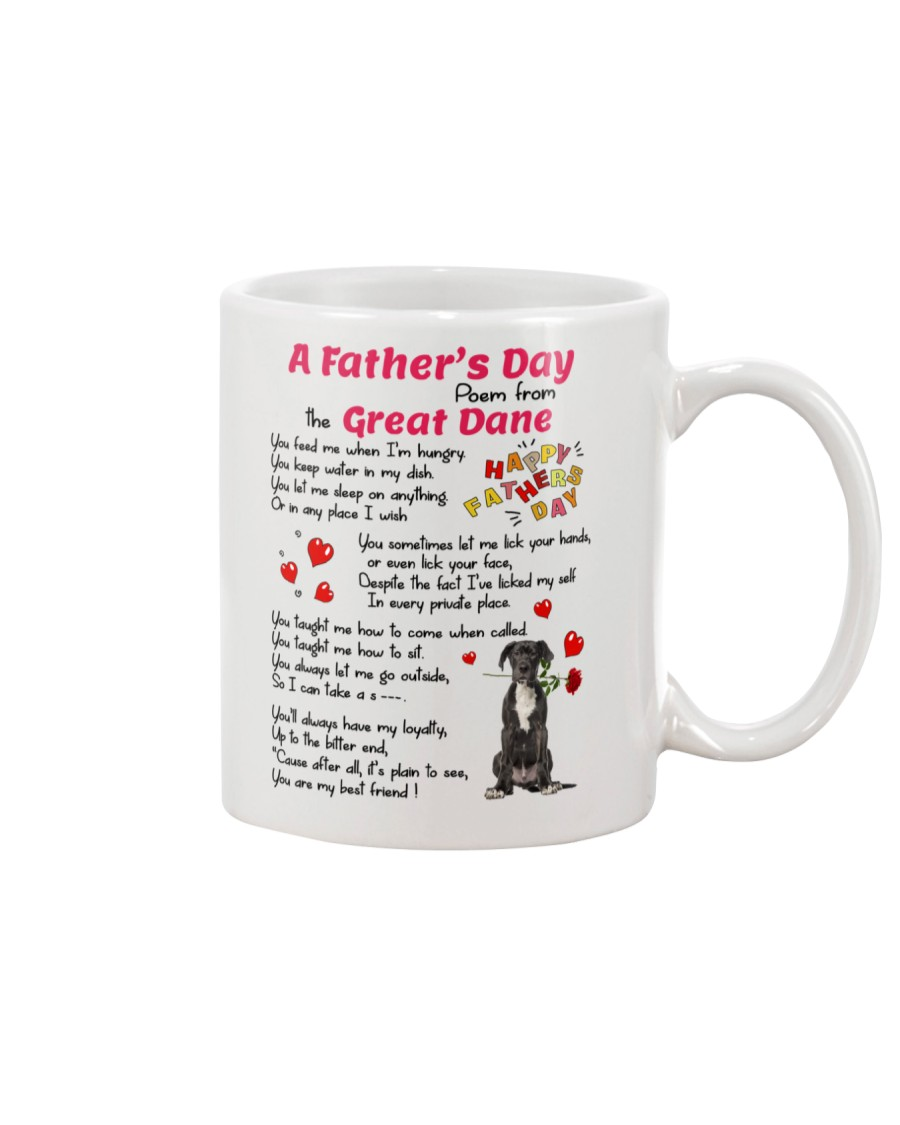 Poem From Great Dane Mug
