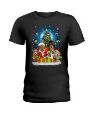 PHOEBE - Golden Retriever - 1111 - C8  Ladies T-Shirt thumbnail