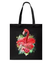 Flamingo Flower  Tote Bag thumbnail