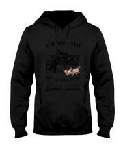 Bulldog Happily Ever After Hooded Sweatshirt tile