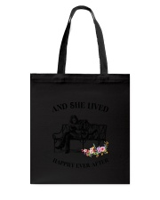 Bulldog Happily Ever After Tote Bag tile