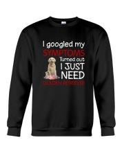 Golden Retriever Symptoms Crewneck Sweatshirt thumbnail