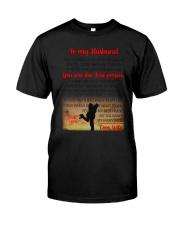 To My Husband Classic T-Shirt thumbnail