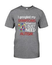 Austism Classic T-Shirt front