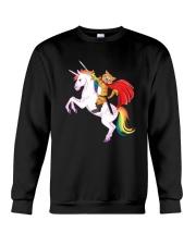 PHOEBE - Cat ride Unicorn - 2011 - D1 Crewneck Sweatshirt thumbnail