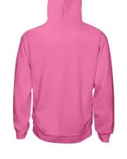 Think Before Act Unicorn Hooded Sweatshirt back