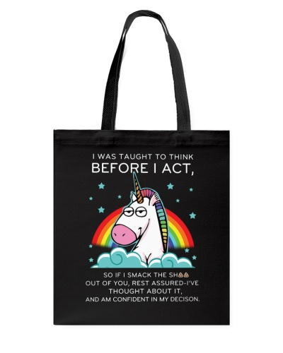 Think Before Act Unicorn