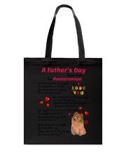 Poem From Pomeranian Tote Bag thumbnail