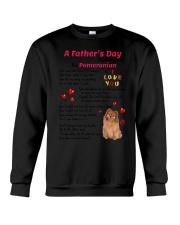 Poem From Pomeranian Crewneck Sweatshirt thumbnail