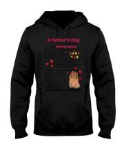 Poem From Pomeranian Hooded Sweatshirt thumbnail