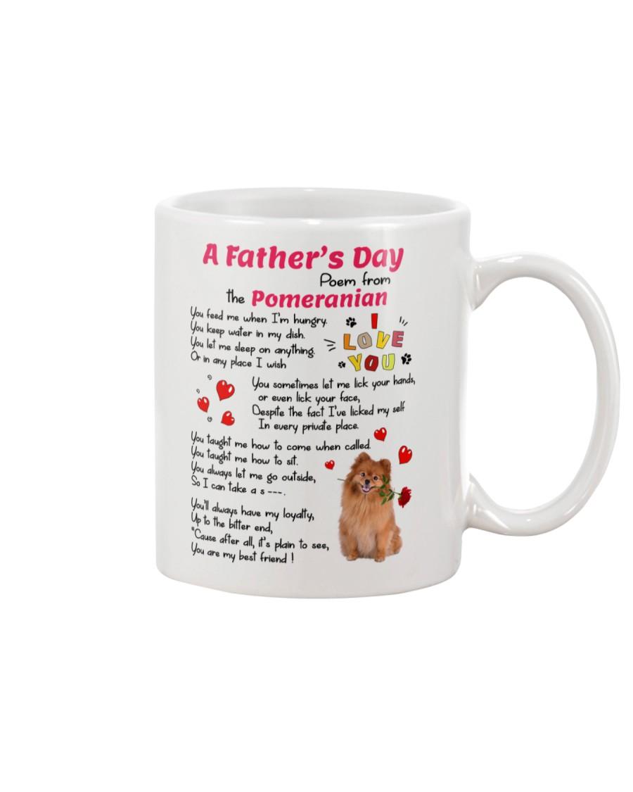Poem From Pomeranian Mug
