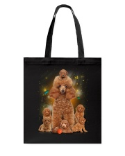 Phoebe - Poodle Mom And Babies - 104 Tote Bag tile