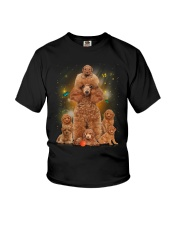 Phoebe - Poodle Mom And Babies - 104 Youth T-Shirt tile