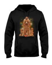 Phoebe - Poodle Mom And Babies - 104 Hooded Sweatshirt thumbnail
