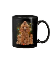 Phoebe - Poodle Mom And Babies - 104 Mug tile