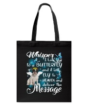 Fly To Heaven French Bulldog Tote Bag tile
