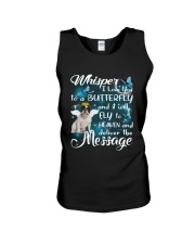 Fly To Heaven French Bulldog Unisex Tank tile