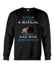 Autism Dad Crewneck Sweatshirt thumbnail