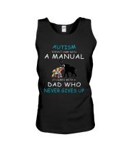 Autism Dad Unisex Tank thumbnail