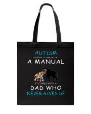 Autism Dad Tote Bag thumbnail