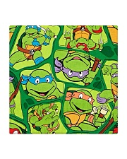 TMNT Funny Color Square Coaster thumbnail