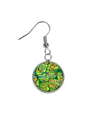 TMNT Funny Color Circle Earrings thumbnail