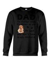 Dad Golden Retriever Crewneck Sweatshirt thumbnail