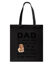 Dad Golden Retriever Tote Bag thumbnail