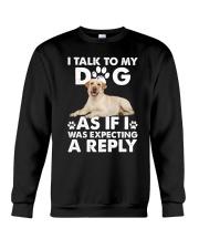 Labrador Retriever Reply Crewneck Sweatshirt thumbnail