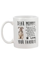 Mommy Shih Tzu Mug back