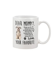 Mommy Shih Tzu Mug tile