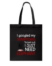 Elephant Symptoms Tote Bag thumbnail