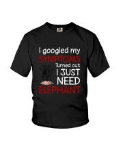 Elephant Symptoms Youth T-Shirt thumbnail