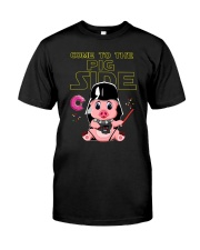 Pig Side Classic T-Shirt front