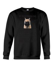 Human Dad Bouvier Des Flandres Crewneck Sweatshirt thumbnail