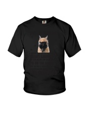 Human Dad Bouvier Des Flandres Youth T-Shirt thumbnail