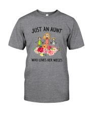 Just An Aunt Classic T-Shirt front