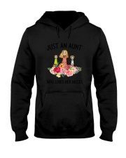 Just An Aunt Hooded Sweatshirt thumbnail