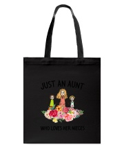Just An Aunt Tote Bag thumbnail