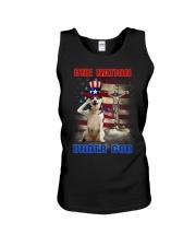 Siberian Husky One Nation Unisex Tank thumbnail
