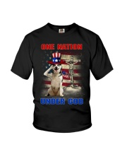 Siberian Husky One Nation Youth T-Shirt thumbnail