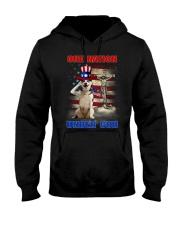 Siberian Husky One Nation Hooded Sweatshirt thumbnail