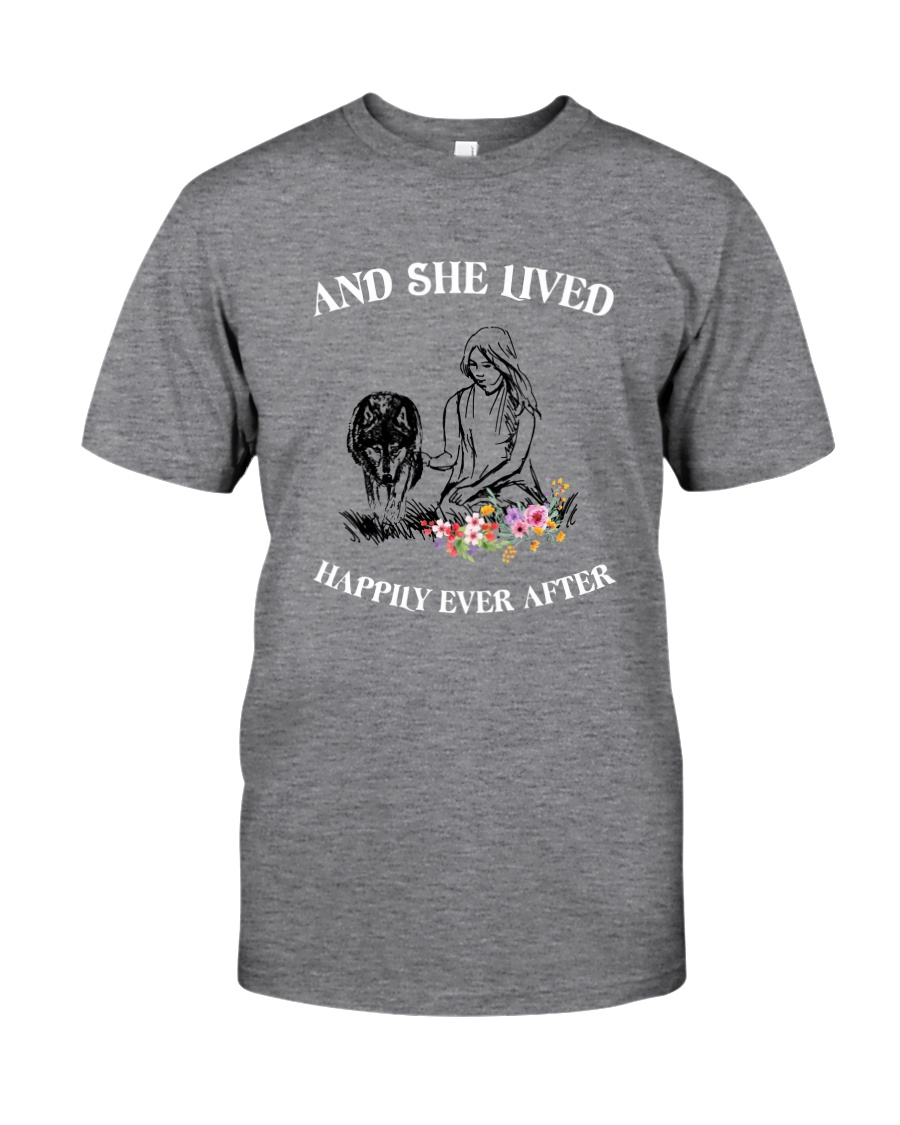 Wolf Happily Ever After Classic T-Shirt