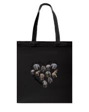 Just A Girl Elephants Tote Bag thumbnail