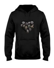 Just A Girl Elephants Hooded Sweatshirt thumbnail
