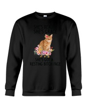 Cat Beauty Grace Crewneck Sweatshirt thumbnail