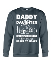 Daddy and daughter Crewneck Sweatshirt thumbnail