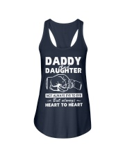 Daddy and daughter Ladies Flowy Tank thumbnail