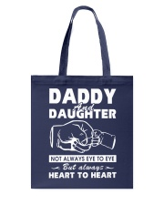 Daddy and daughter Tote Bag thumbnail